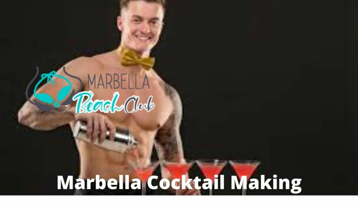 marbella cocktail making class