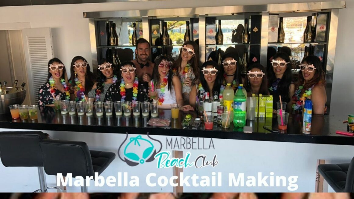 marbella cocktail making