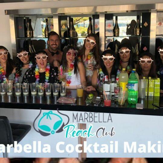 marbella cocktail making